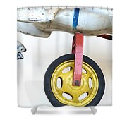 Dependable Support Shower Curtain