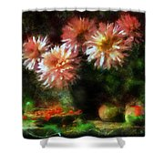 Depths Of Tranquility Shower Curtain