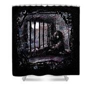 Deranged Shower Curtain