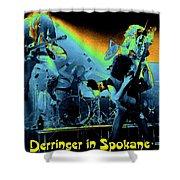 Derringer In Spokane Shower Curtain