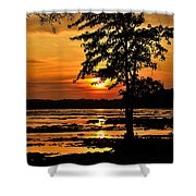 Deschenes Sunset Shower Curtain
