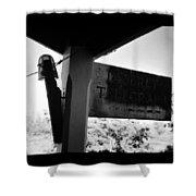 Deseret Telegraph Office Shower Curtain