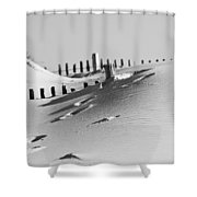 Desert Beach Shower Curtain