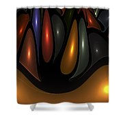 'desert Bubbles Shower Curtain