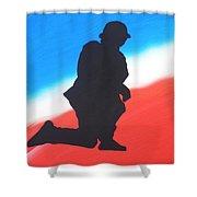 Desert Duty I Shower Curtain