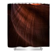 Desert Rain Shower Curtain
