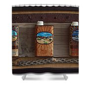 Desert Tryptich Shower Curtain