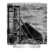 Deserted Mine Shower Curtain