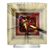 Desire For Freedom Shower Curtain