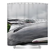 Dessoto Hood Ornament 8622 Shower Curtain
