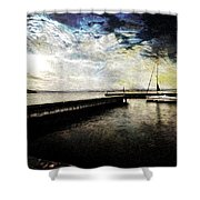 Destination - Pacific Shower Curtain