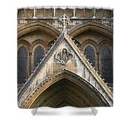 Detail Of Westminster Abbey Shower Curtain