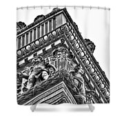 Details Of The Ellicott Buildings Roof Shower Curtain