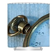 Details Of Time 1 Shower Curtain
