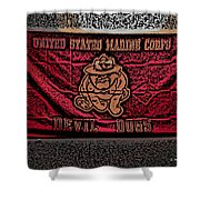 Devil Dogs Shower Curtain