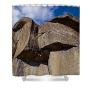 Devil's Den Formation 74 Shower Curtain by Paul W Faust -  Impressions of Light