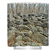 Devil's Potato Patch - Montgomery County - Pennsylvania Shower Curtain