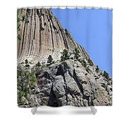 Devil's Tower 2 Shower Curtain