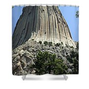 Devil's Tower Shower Curtain