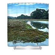 Devoran River Shower Curtain