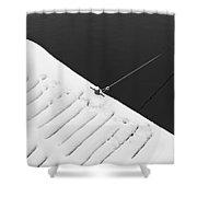 Diagonal Shower Curtain