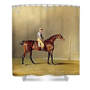Diamond - With Dennis Fitzpatrick Up Shower Curtain