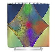 Diamond Abstract Shower Curtain