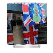 Diamond Jubilee 1952-2012 Shower Curtain