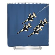 Diamond Loop Pullout Shower Curtain