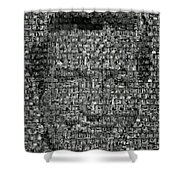 Dick Van Dyke Mosaic Shower Curtain