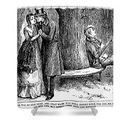 Dickens: Martin Chuzzlewit Shower Curtain