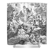 Diderot Encyclopedia Shower Curtain