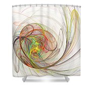 Diffusion  Shower Curtain