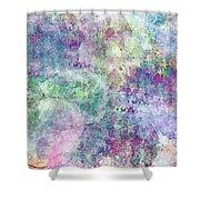 Digital Abstract II Shower Curtain