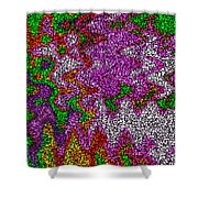 Digital Boxes Shower Curtain