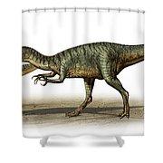 Dilophosaurus Wetherilli, A Prehistoric Shower Curtain
