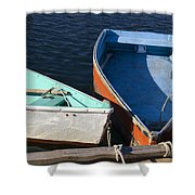 Dinghy Tie Up Shower Curtain