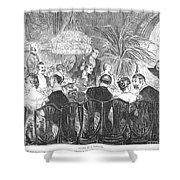 Dinner Party, 1885 Shower Curtain