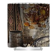 Dinner Stein  Shower Curtain