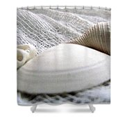 Directional Lighting Study And Textures Shower Curtain