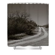 Dirt Road Shower Curtain