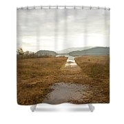 Disappearing Reflections Shower Curtain