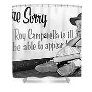 Disappointed Boy, 1957 Shower Curtain