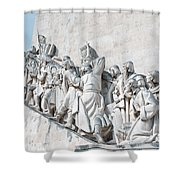 Discovery Monument Lisbon Portugal Shower Curtain