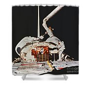 Discovery Spacewalk Shower Curtain