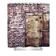 Dismal At Best - Rusty And Crusty Shower Curtain