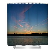 Dissipating Shower Curtain