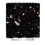 Distant Galaxies Shower Curtain