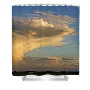 Dive Into The Night Shower Curtain