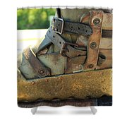 Divers Boot Shower Curtain